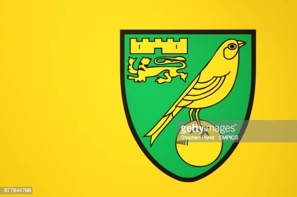 A general view of the Norwich City crest