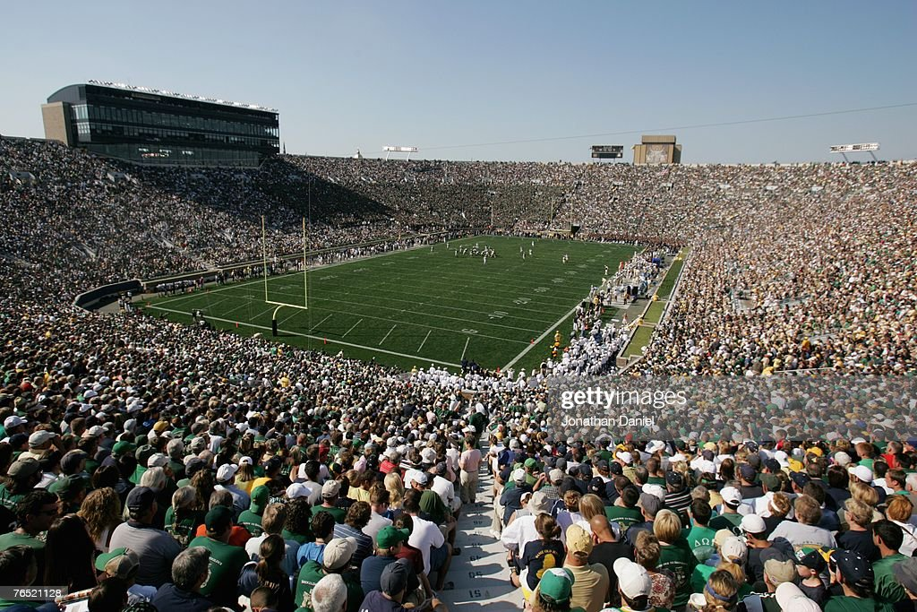 Georgia Tech Yellow Jackets v Notre Dame Fighting Irish : ニュース写真