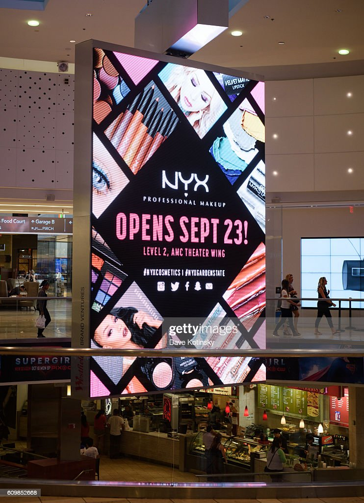 A General View Of The Nyx Professional Makeup Store Garden State