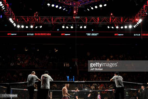 A general view of the Octagon during the UFC Fight Night event at Royal Arena on September 28 2019 in Copenhagen Denmark