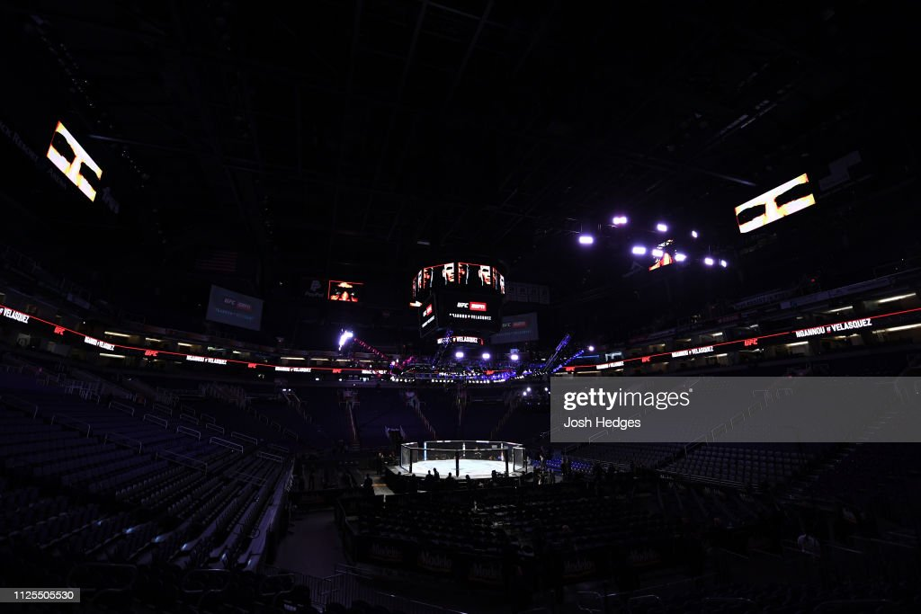 AZ: UFC Fight Night Ngannou v Velasquez