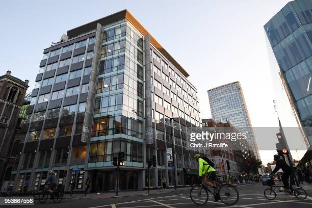 A general view of the office building that used to be occupied by the now defunct Cambridge Analytica on May 2 2018 in London England