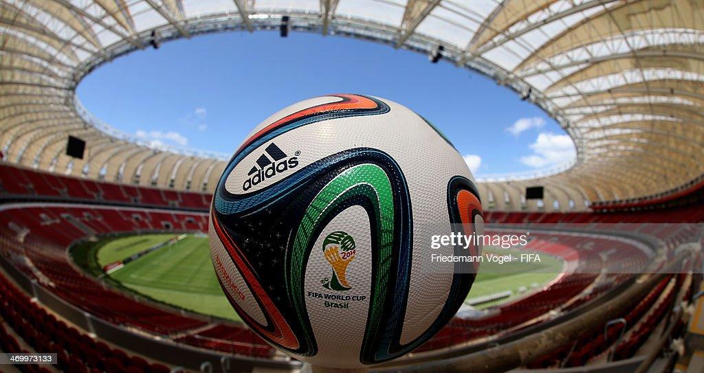Porto Alegre - 2014 FIFA World Cup Host City Tour : News Photo