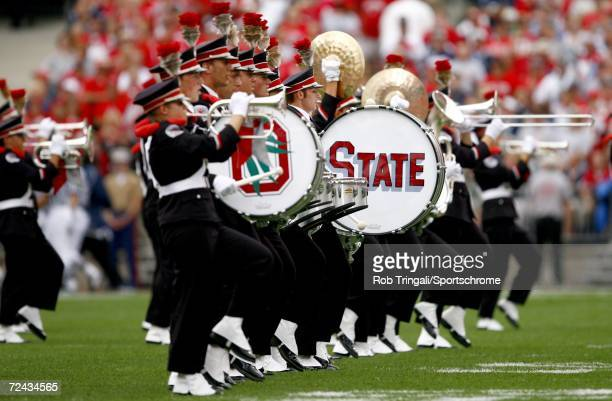 General view of the Ohio State band before a game against the Penn State Nittany Lions on September 23, 2006 in Columbus, Ohio. Ohio State won 28 to...
