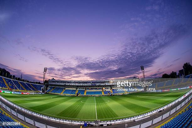 A general view of the Olimp2 prior to the UEFA Champions League match between FC Rostov and PSV Eindhoven at Olimp2 on September 28 2016 in...