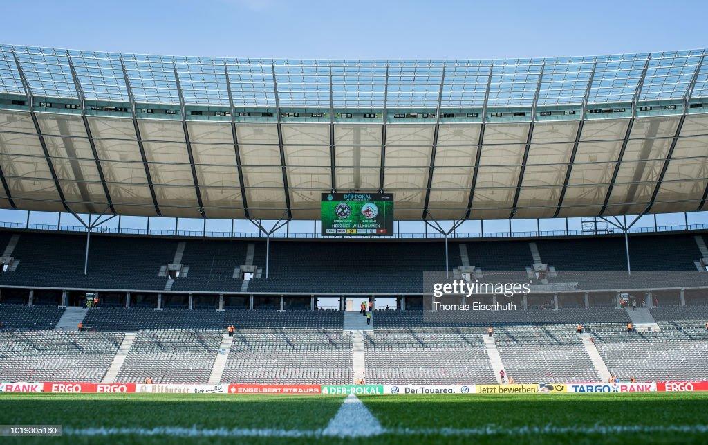 BFC Dynamo v 1. FC Koeln - DFB-Cup