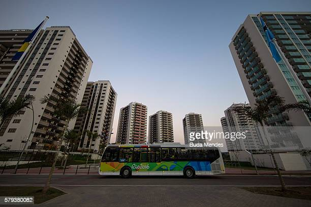 A general view of the Olympic and Paralympic Village for the 2016 Rio Olympic Games in Barra da Tijuca The Village will host up to 17200 people...