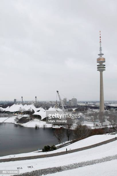 A general view of the Olympic Park Munich Red Bull FC Bayern Munich have come together to build a multi purpose stadium in the Olympic Park The...