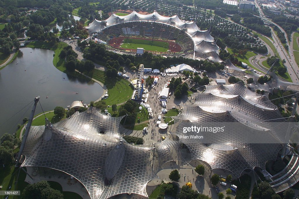 GV of the Olympic Stadium : News Photo