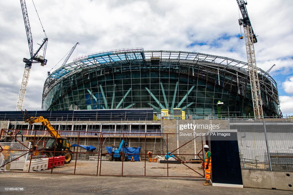 Tottenham Hotspur New Stadium Construction - London : ニュース写真
