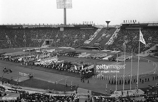General view of the opening ceremony