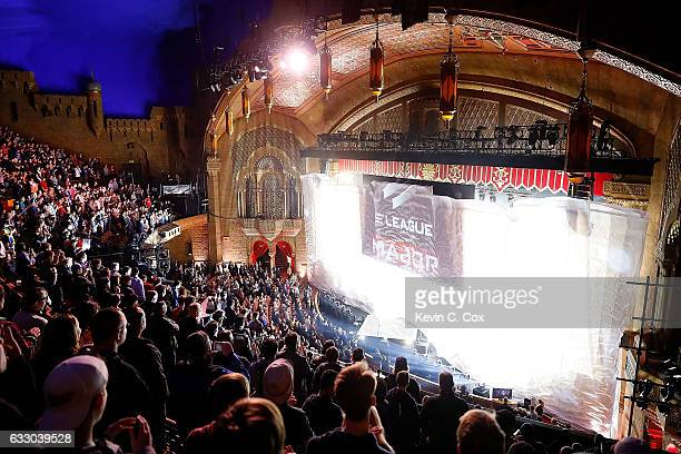 A general view of the opening for the ELEAGUE CounterStrike Global Offensive Major Championship finals at Fox Theater on January 29 2017 in Atlanta...