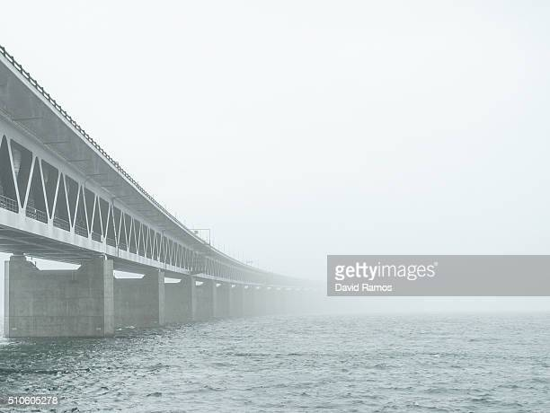General view of the Oresund bridge on February 5, 2016 in Malmo, Sweden. Last year Sweden received 162,877 asylum applications, more than any...