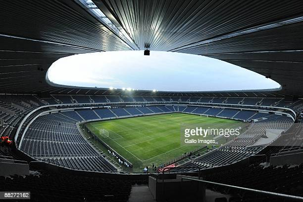 General view of the Orlando Stadium on June 6, 2009 in Johannesburg, South Africa.
