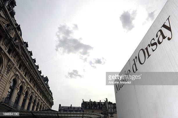 General view of the Orsay Museum stands in Paris, France.