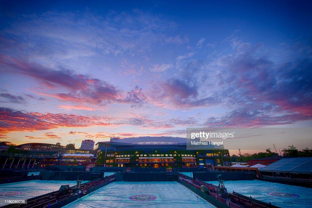Day Five: The Championships - Wimbledon 2019 : Nachrichtenfoto