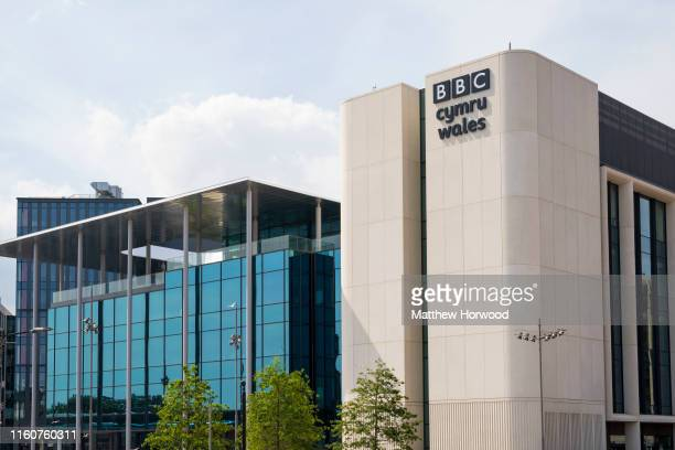 General view of the outside of the new BBC Wales building at Central Square on July 7, 2019 in Cardiff, United Kingdom.