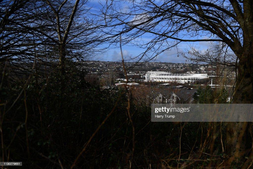 GBR: Swansea v Brentford - FA Cup Fifth Round