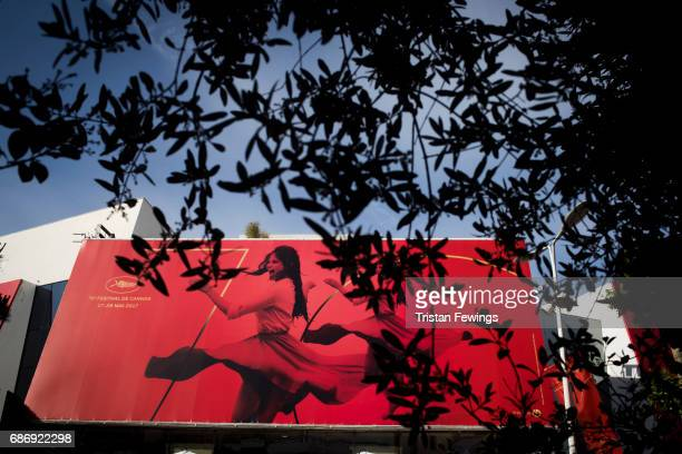 A general view of the Palais des Festival during the 70th annual Cannes Film Festival at on May 22 2017 in Cannes France