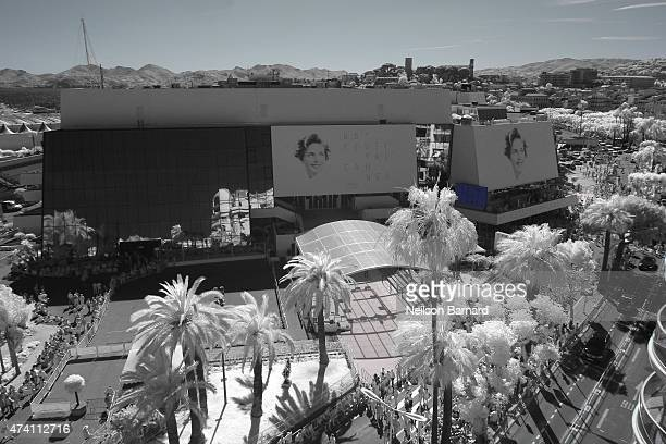 A general view of the Palais des Festivals during the 68th annual Cannes Film Festival on May 20 2015 in Cannes France