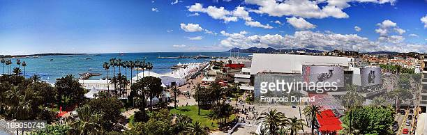 General view of the Palais des Festivals on May 19 2013 in Cannes France