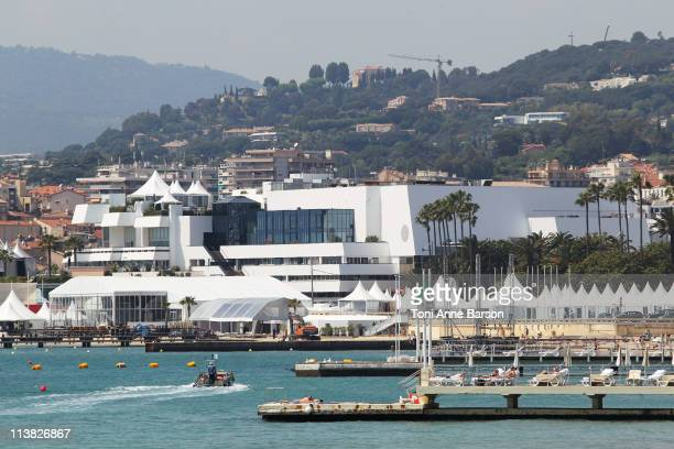 General view of the 'Palais des Festivals' on May 6 2011 in Cannes France