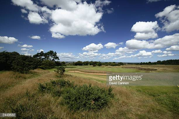General view of the par 3 5th hole at Ganton Golf Club the venue for the 2003 Walker Cup on August 14, 2003 at Ganton Golf Club in Ganton, England.