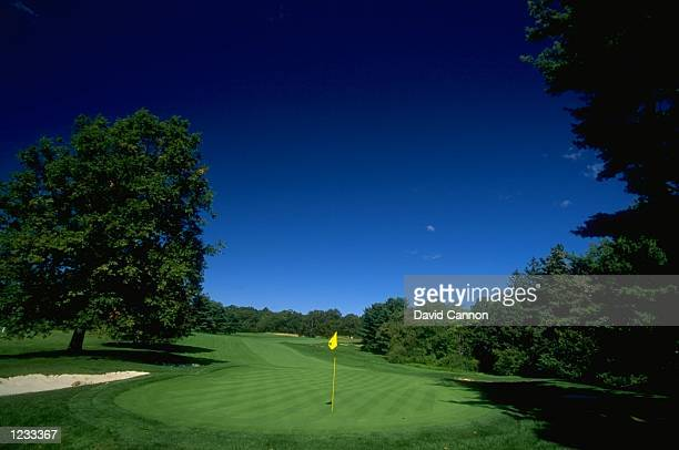 General view of the par 4, 17th hole at The Country Club in Brookline, Massachusetts. \ Mandatory Credit: David Cannon /Allsport