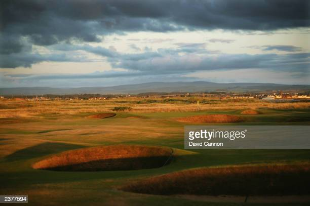 General view of the par 4, 2nd hole taken during a photoshoot held on July 26, 2003 at the Royal Troon Golf Club, venue for the 2004 Open...
