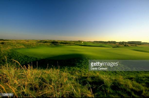 General view of the par 4 3rd at Carnoustie in Scotland Mandatory Credit David Cannon /Allsport