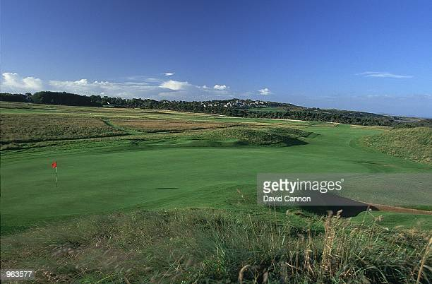 General view of the Par 4 3rd hole at the Muirfield Golf and Country Club at Gullane in Edinburgh Scotland Mandatory Credit David Cannon /Allsport