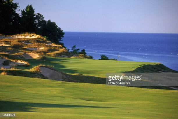 General view of the par 4 8th hole at Whistling Straits Golf Course, site of the 2004 PGA Championship on September 2, 2003 in Kohler, Wisconsin....