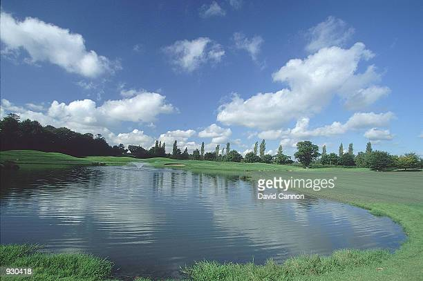 General view of the Par 5 3rd hole at the Brabazon Course The Belfry Golf Club in Sutton Coldfield England Mandatory Credit David Cannon/Allsport