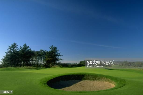 General view of the par 5 6th at Carnoustie in Scotland Mandatory Credit David Cannon /Allsport