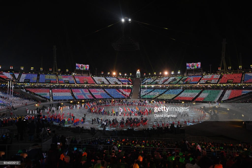 2018 Winter Olympic Games - Closing Ceremony : Photo d'actualité