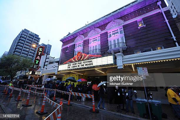 A general view of the Paramount Theatre during the World Premiere of The Cabin in the Woods on March 9 2012 in Austin Texas