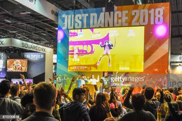 General view of the Paris games week fair The biggest game convention Paris Games Week took place at Paris Expo The event open to public from Nov 1...