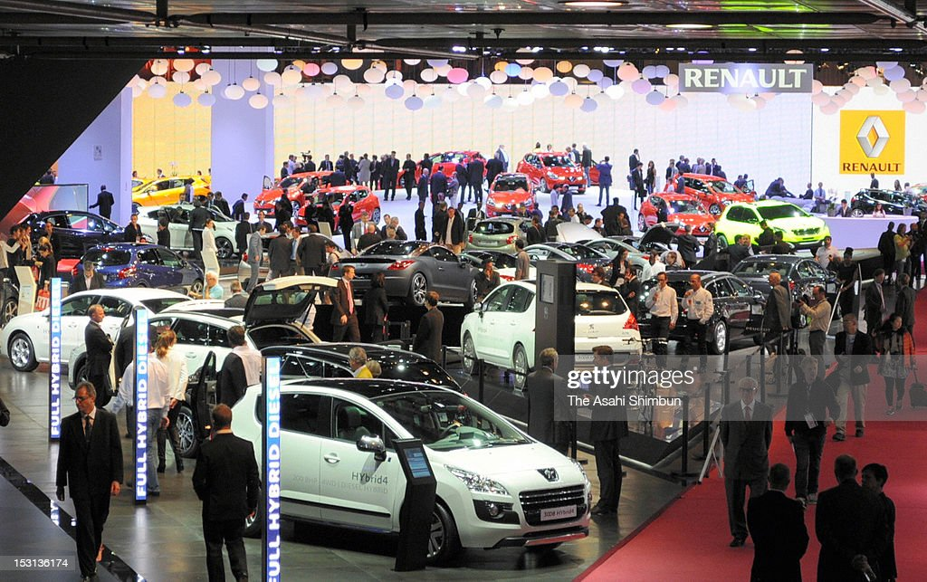 General view of the Paris Motor Show on September 28, 2012 in Paris, France.