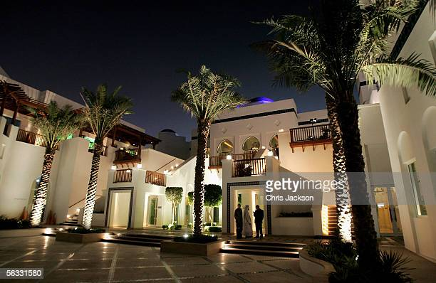 A general view of the Park Hyatt Hotel on the eve of Modern Luxury December 4 2005 in Dubai United Arab Emirates Modern Luxury is the International...