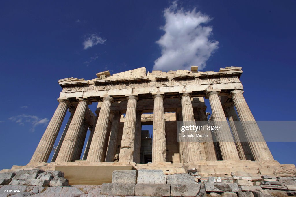Athens Prepares For The Summer Olympic Games : News Photo