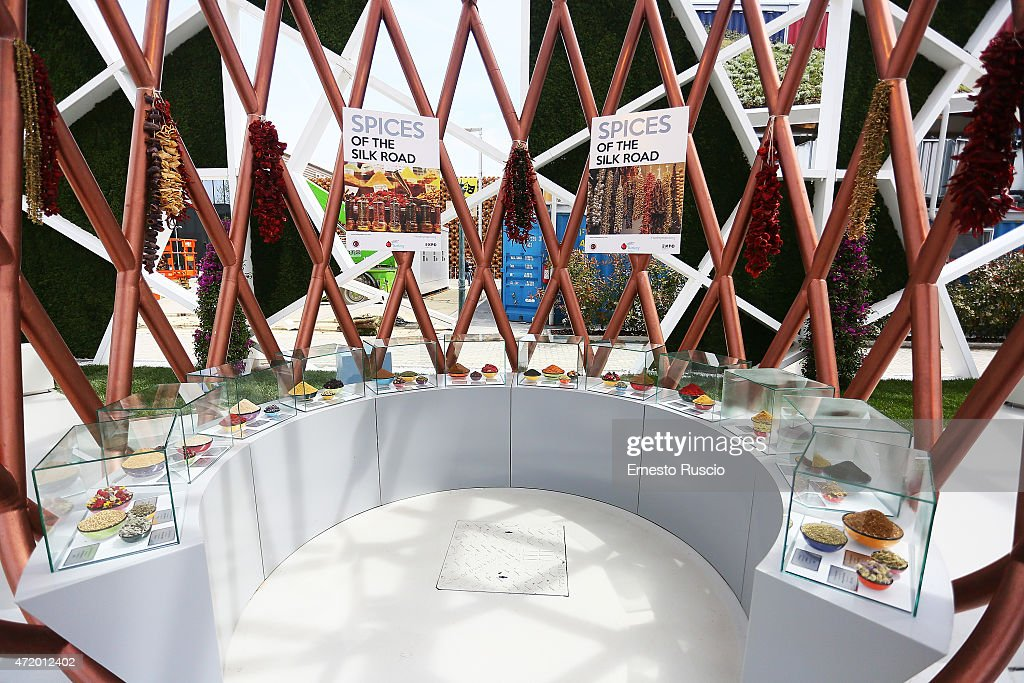 Pavillions - Expo 2015 : News Photo