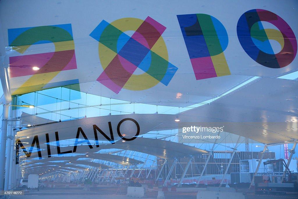 Last Preparation Works - Expo 2015 : News Photo