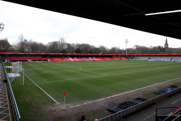 GBR: Salford City v Bolton Wanderers - Sky Bet League Two