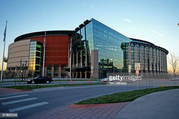A general view of The Pepsi Center on March 9 2000 in Denver Colorado NOTE TO USER User expressly acknowledges and agrees that by downloading and/or...