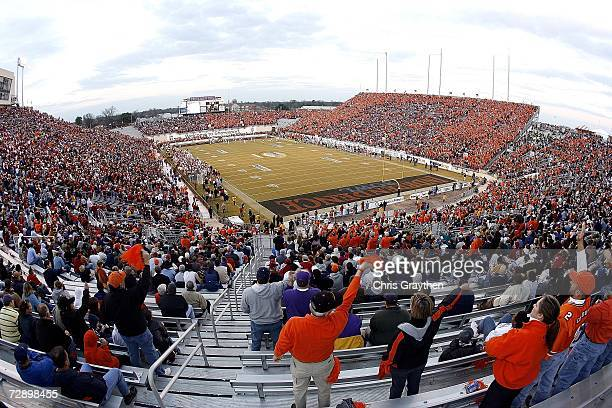General view of the PetroSun Independence Bowl between Alabama and Oklahoma State on December 28, 2006 at Independence Stadium in Shreveport,...
