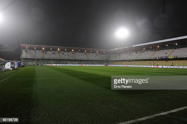 A general view of the pitch ahead of the international friendly match betwen Italy and Sweden at Dino Manuzzi Stadium on November 18 2009 in Cesena...