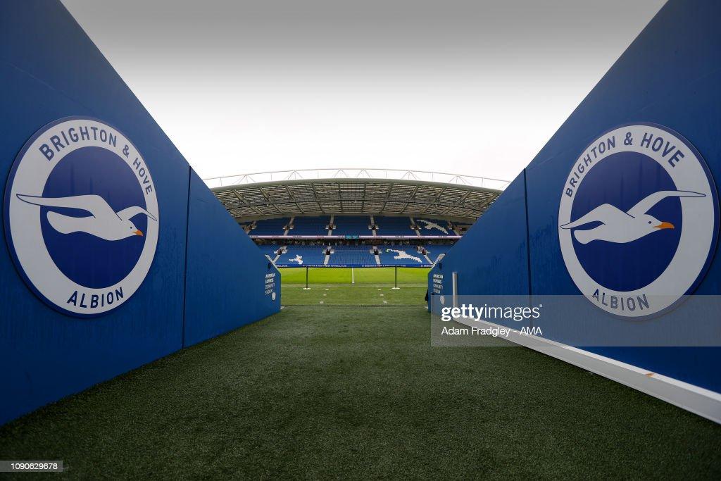 Brighton & Hove Albion v West Bromwich Albion - FA Cup Fourth Round : ニュース写真