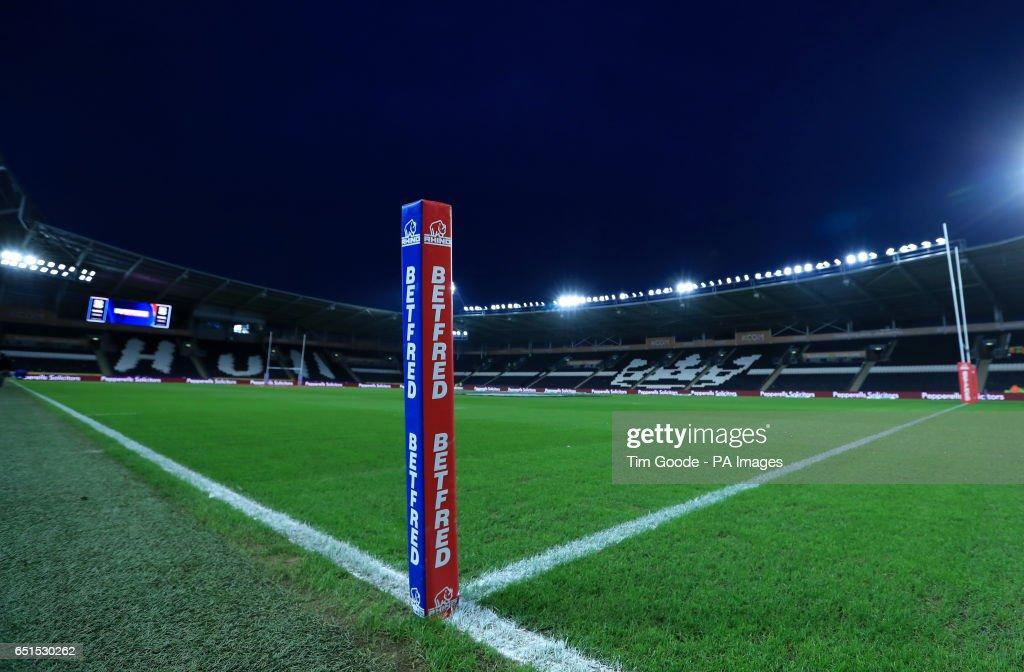 Hull FC v St Helens - Betfred Super League - KCOM Stadium : News Photo