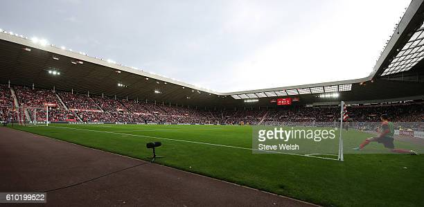 General view of the pitch insideThe Stadium of Light the home of Sunderland FC during the Premier League match between Sunderland and Crystal Palace...