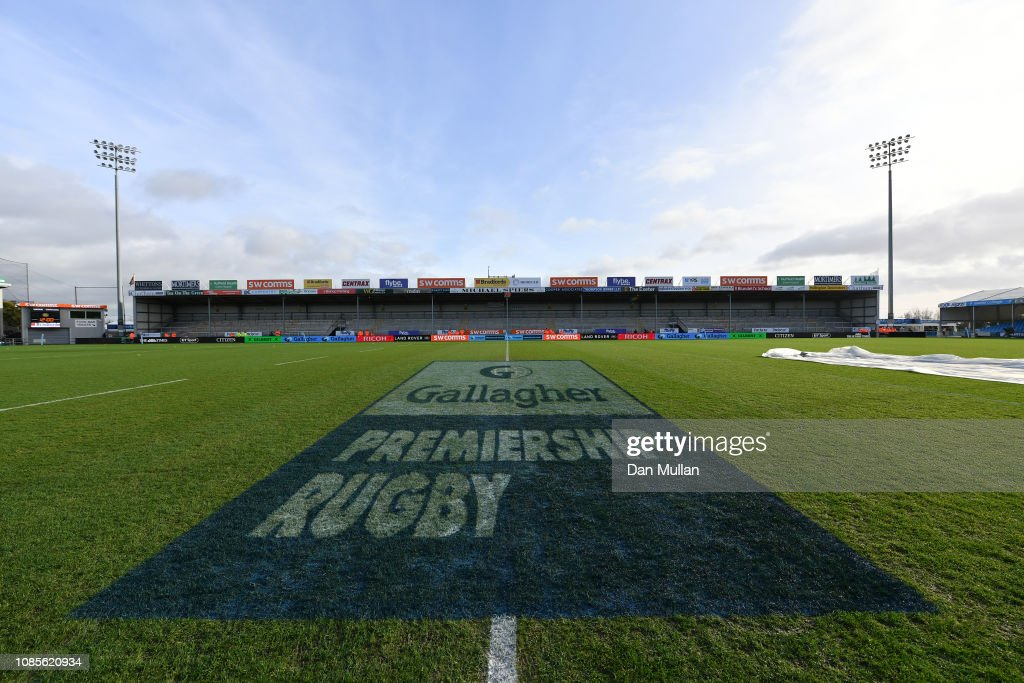 GBR: Exeter Chiefs v Saracens - Gallagher Premiership Rugby